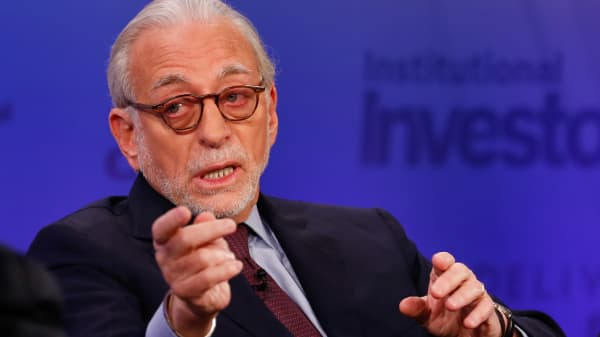 Nelson Peltz at Delivering Alpha 2015 in New York.