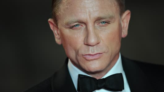 "Daniel Craig aka ""James Bond"""