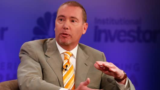 Jeffrey Gundlach at Delivering Alpha 2015 in New York.