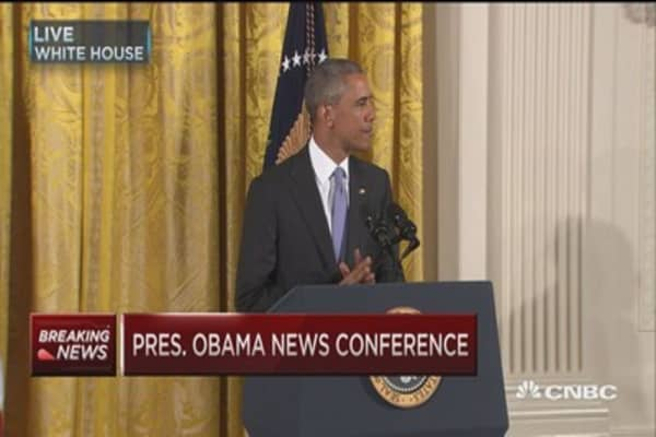 Obama: Iran nuclear deal was historic