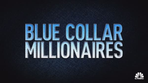 Blue collar millionaires:  The king of concrete