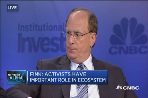 Larry Fink: There is a role for activism