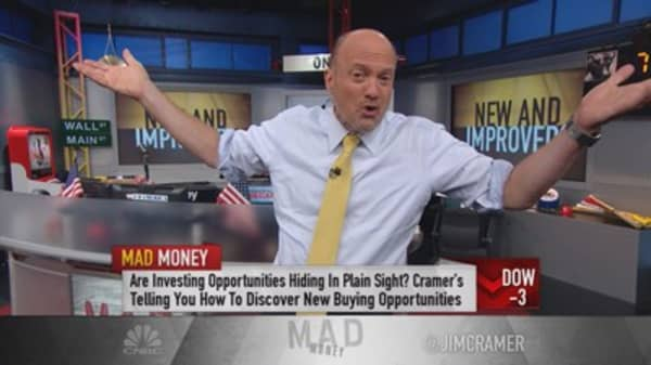 Cramer's fresh take on M, ETH & MCD