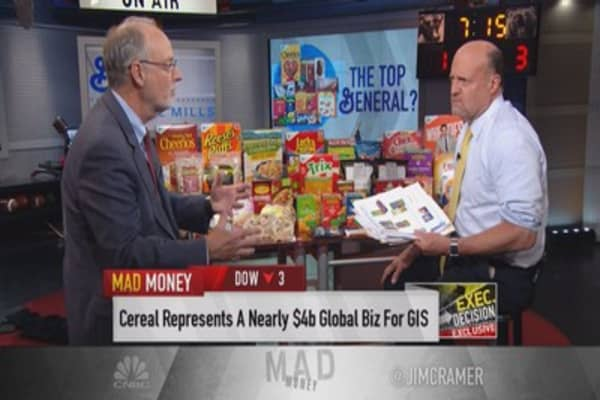 General Mills CEO: Cheerios will be gluten-free