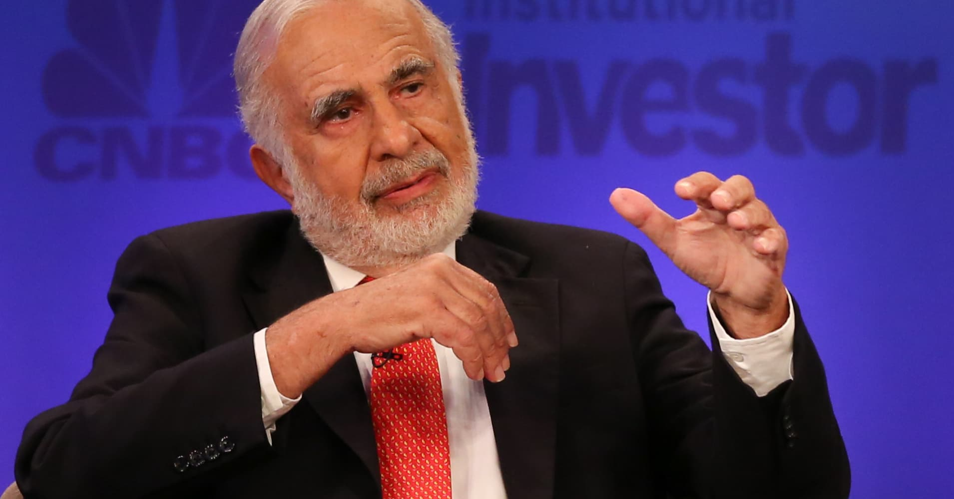Cautious Carl Icahn says market has gotten into a 'euphoric state'