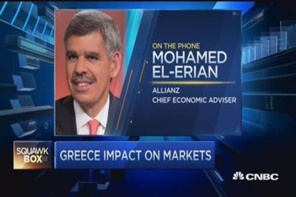 Greece ultimately exits euro zone: El-Erian