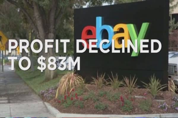 Ebay reports mixed Q2 results