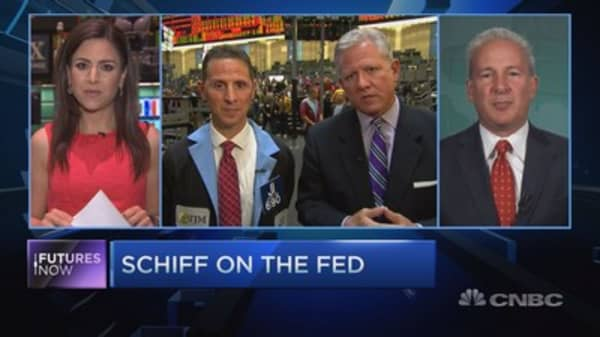 Trader slams Schiff: You make 'outlandish calls'