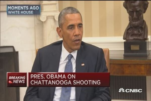 President Obama on Chattanooga shooting