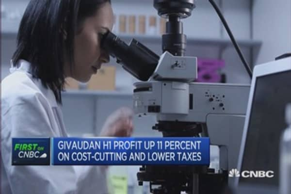 Need to be cautious in H2: Givaudan CEO