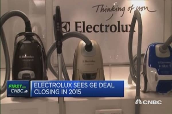 Market demand solid for Electrolux: CEO