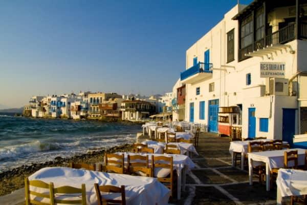 The Island of Mykonos