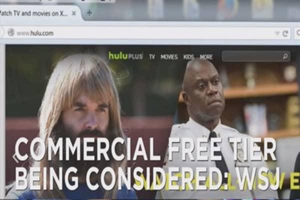 Hulu considers ad-free service