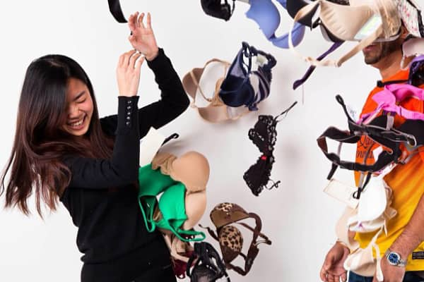 Venture capitalist, Michelle Lam left big money to make better bras.