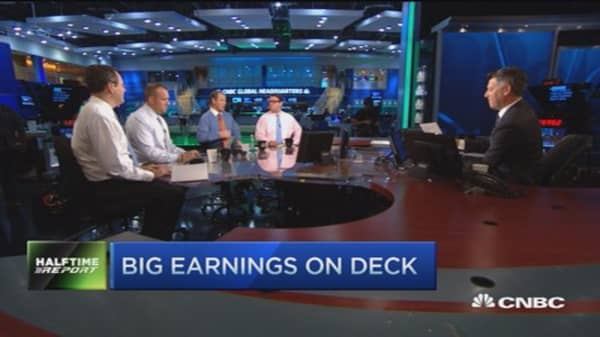 Top trades for the 2nd half: Earnings preview