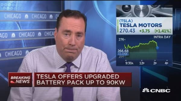 3 announcements out of Tesla