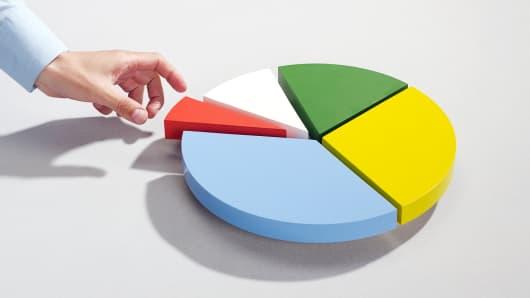 Diversification pie chart
