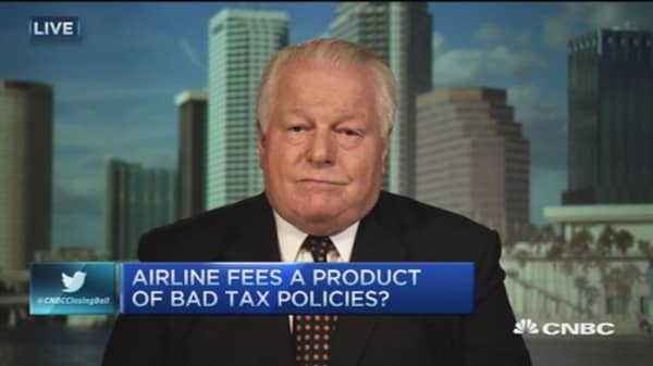 Airlines ducking $500 million in taxes: Expert