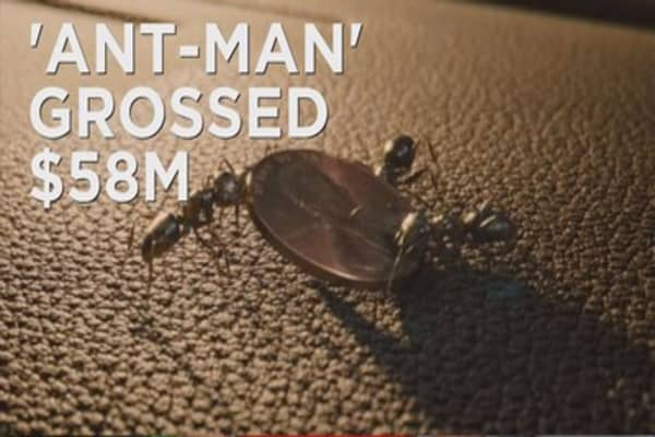 'Ant-Man' takes top spot at the box office