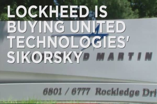 Lockheed to buy Sikorsky for over $9B