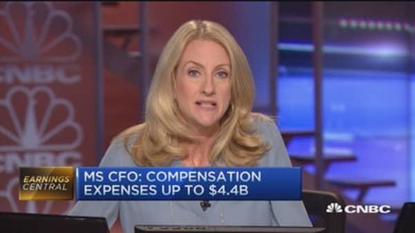 Morgan Stanley's Q2 earnings beat Street