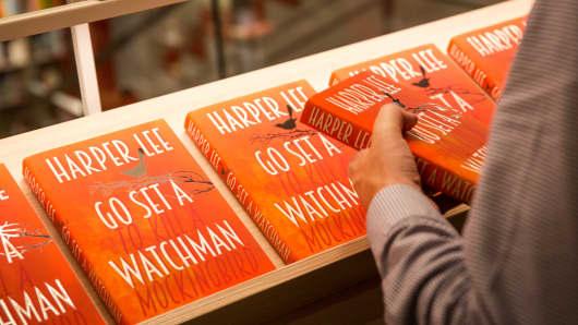 """Harper Lee's """"Go Set a Watchman"""" on sale."""