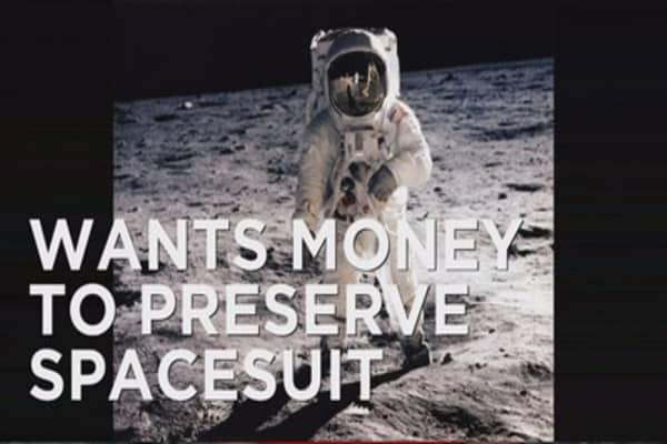 Smithsonian raising money to preserve spacesuit