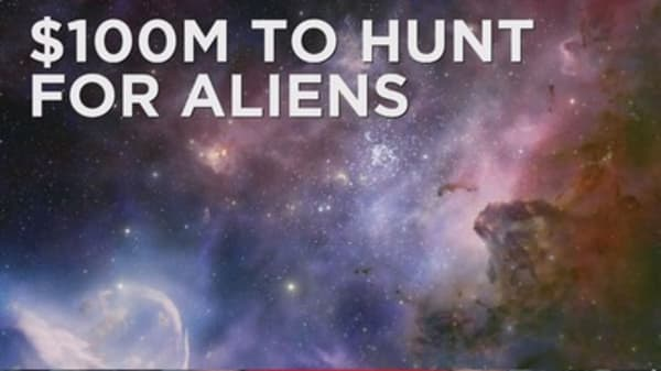 The search for aliens is on