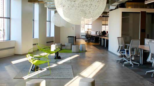 Inside Yelp's New York City office