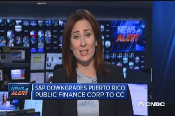 S&P downgrades Puerto Rico Public Finance corp to CC