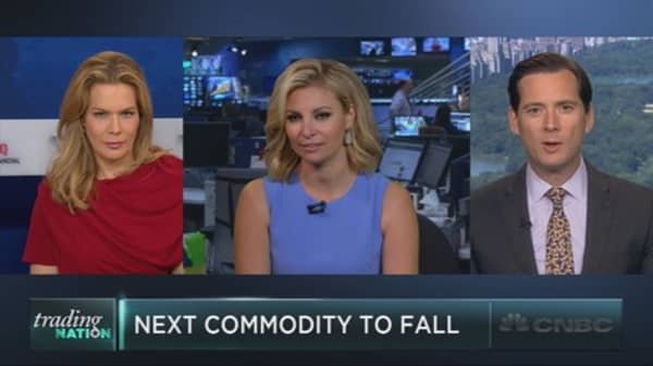 Next commodity to fall