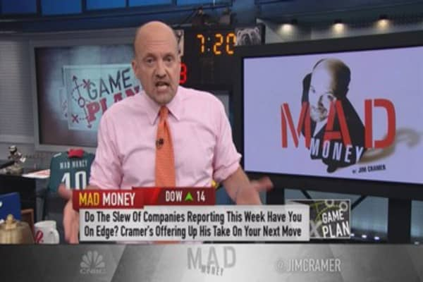 Cramer: This week is a minefield