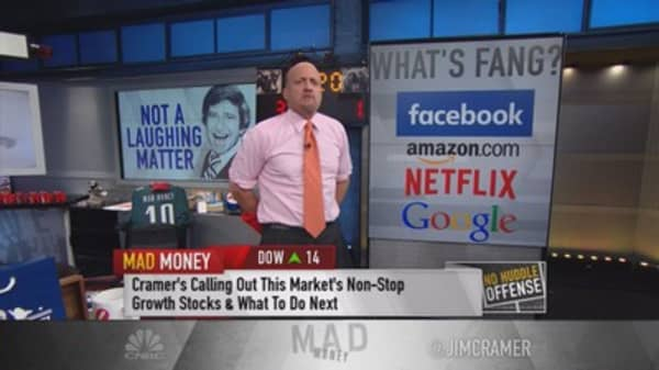 Cramer: FANG's in the lead again