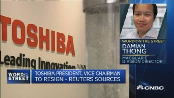 Will leadership change help Toshiba?