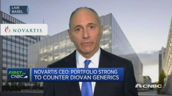 Looking at bolt-on acquisitions: Novartis CEO