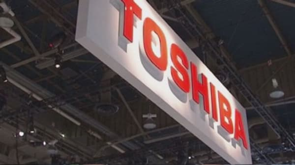 Toshiba gets a new boss