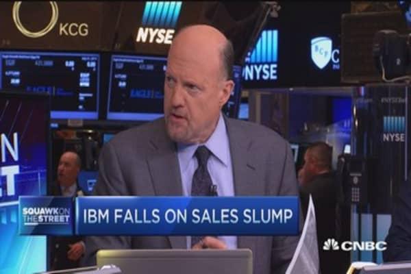 Cramer: IBM still a good value play, but ...