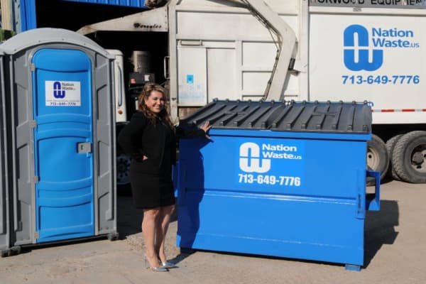 Maria Rios, president and CEO of Nation Waste