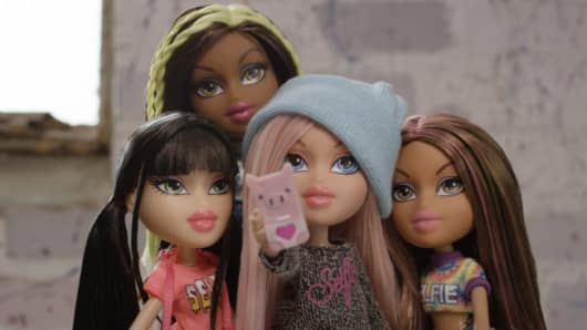 Bratz dolls on social media?
