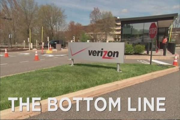Verizon reports mixed earnings