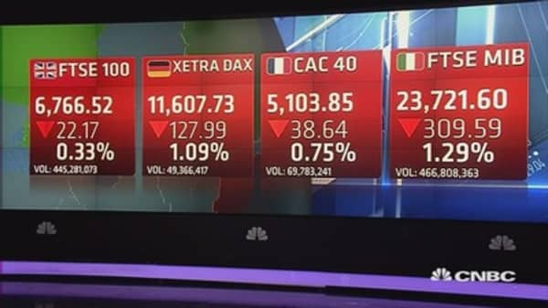 European stocks lose steam