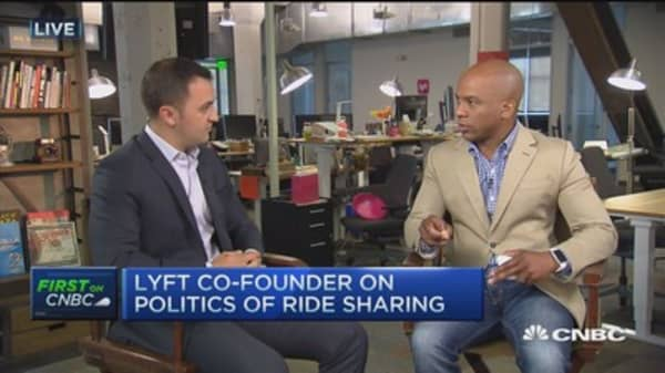 Most millennials won't own cars in 5 years: Lyft founder