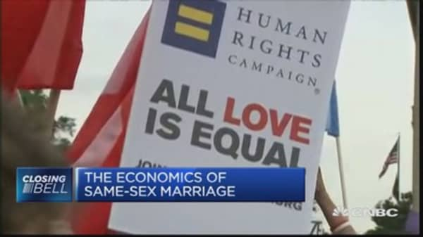 Growth boost from same-sex marriage?
