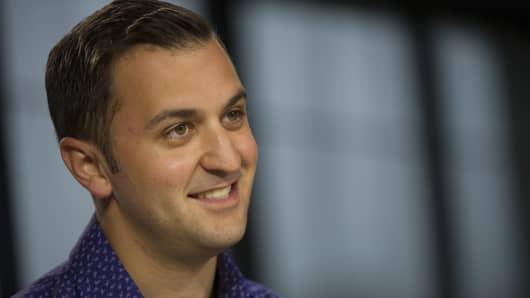 John Zimmer, co-founder and president of Lyft Inc.