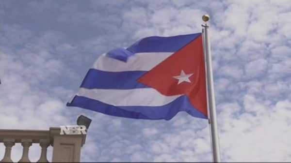 Cuban embassy reopens in DC