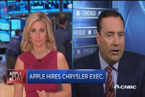 Apple's new car guy hire