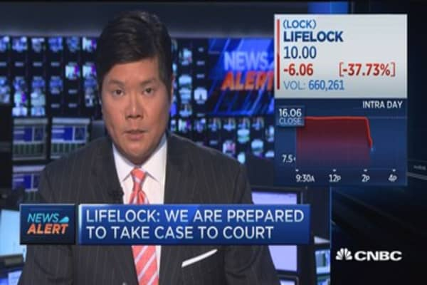 Lifelock: We disagree with FTC's contentions