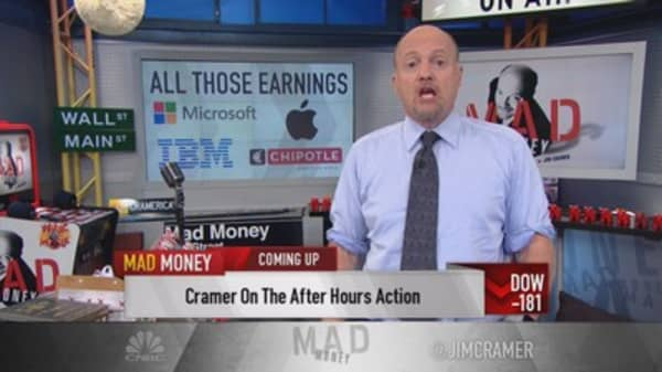 Cramer: Apple too cheap to sell