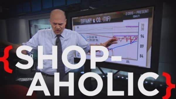 Cramer: You're being a moron if you sold this