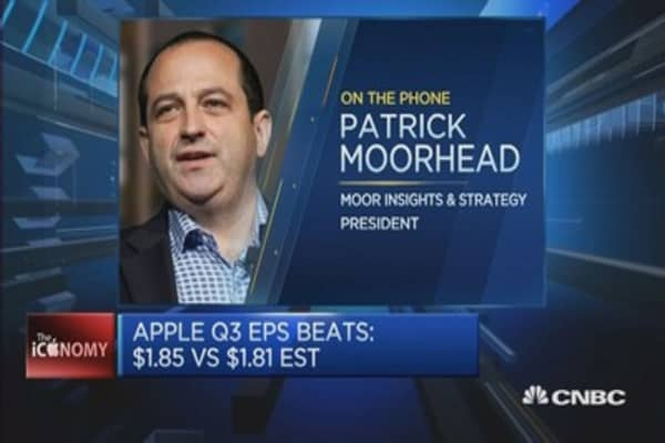 This expert is happy with Apple earnings